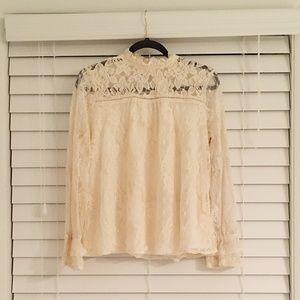 Taylor & Sage Lace Shirt